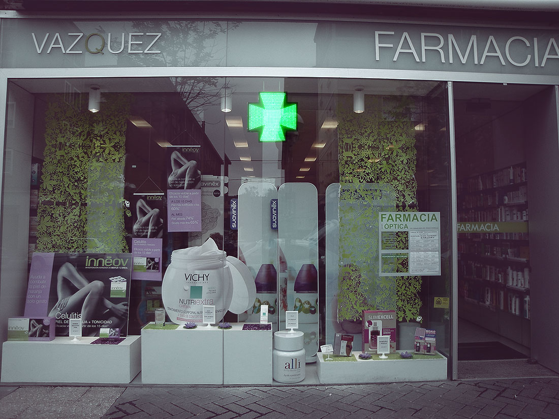 farmacia cruz led