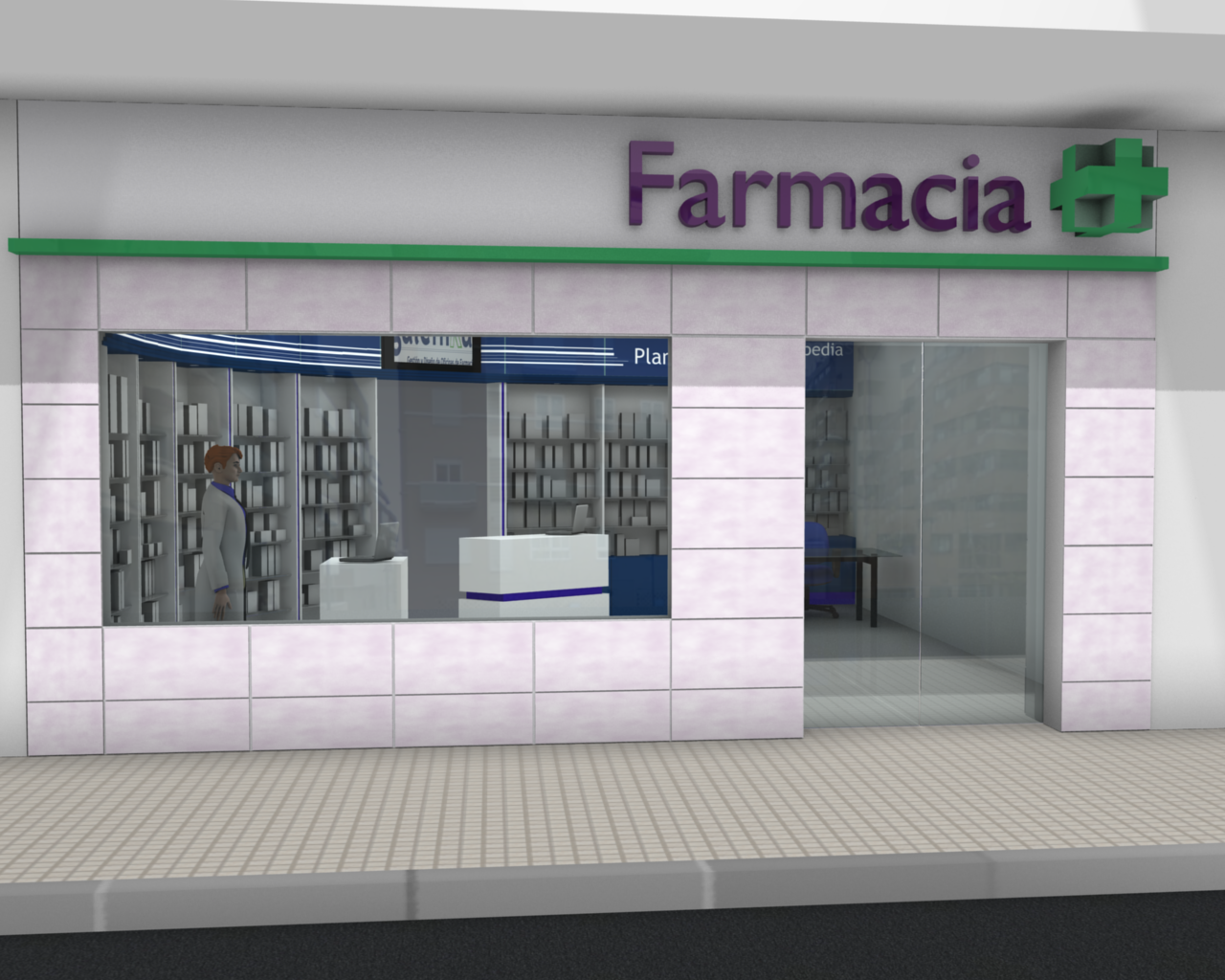 mejora consumo leds en farmacias